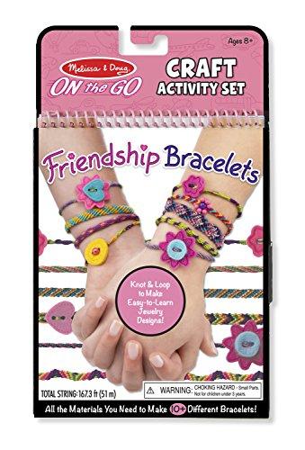 Melissa & Doug On-the-Go Craft Set - Friendship Bracelets