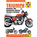 Triumph Bonneville, T100, Speedmaster, America, Thruxton and Scrambler for '01 to '12