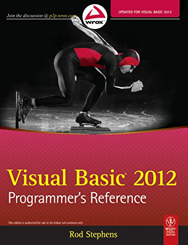 Visual Basic 2012 Programmer's Reference (WROX)
