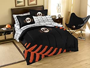 MLB San Francisco Giants Twin Full Sized Comforter with Shams by Northwest