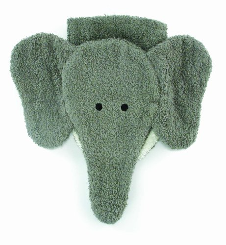 Washcloth Hand Puppet Elephant By Furnis Large