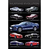 Ford Mustang Evolution Car Photo Poster Print
