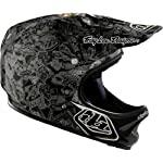 Troy Lee Designs History D2 Composite Bike Sports BMX Helmet - Black / Medium/Large