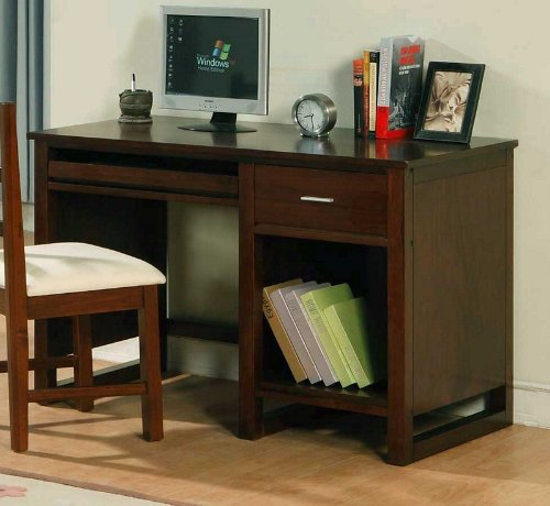 Buy Low Price Comfortable Home Office Computer Writing Desk in Cherry Finish (B0045R7CDM)