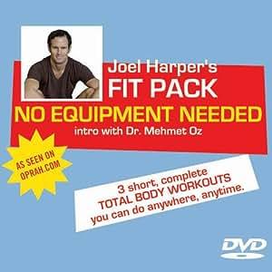 Joel Harper's NO EQUIPMENT NEEDED Workout DVD