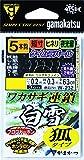 がまかつ(Gamakatsu) ワカサギ連鎖 白雪 狐 5本 W232 1.5-0.2.