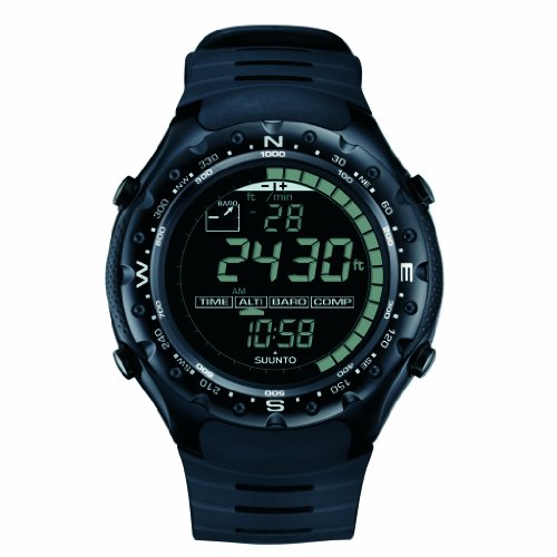 Suunto X-Lander Wrist-Top Computer Watch with Altimeter, Barometer, Compass, and Chronograph (Black Military)