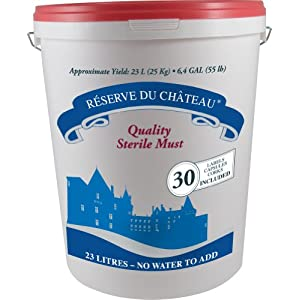 Reserve Du Chateau 6 Week Wine Kit, Italian Barbaresco, 55-Pound Container