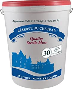 Reserve Du Chateau 6 Week Wine Kit, Italian Amarone Style, 55-Pound Container