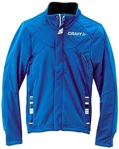 Craft 3Jxc Veste de ski de fond garçon Bleu FR : 6 ans (Taille Fabricant : 110-116)