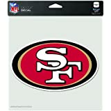 NFL San Francisco 49Ers 8-by-8 Inch Diecut Colored Decal