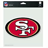 NFL San Francisco 49Ers 8-by-8 Inch Diecut Colored Decal at Amazon.com