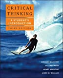 Critical Thinking: A Student's Introduction (0073407348) by Bassham,Gregory