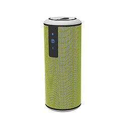 Trendwoo Music Tube Ourdoor Speakers Wireless Speakers Bluetooth Speakers Waterproof Speaker Ultra Portable Hifi Speaker (Green)