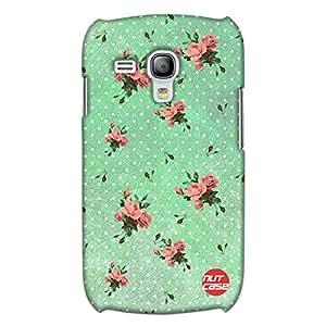 Designer Samsung Galaxy S3 Mini Cover Nutcase -Vintage Shabby Chic Blossom