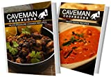 img - for Paleo Pressure Cooker Recipes and Paleo Indian Recipes: 2 Book Combo (Caveman Cookbooks) book / textbook / text book