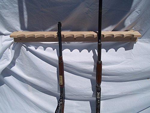 Oak Closet Gun Rack (Gun Rack Wood compare prices)