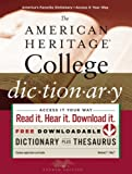 The American Heritage College Dictionary, Fourth Edition (0547247664) by American Heritage Dictionaries, Editors of the