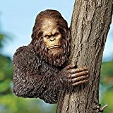 "Design Toscano Bigfoot, the Bashful Yeti Tree Sculpture: Over 11"" Diameter Trees"