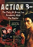 Cover art for  Action (3-Pack): The Fists Of Bruce Lee / Screaming Ninja / Master (1984): Out-Of-Time Step / Maz