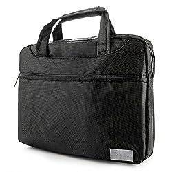 VanGoddy NineO Collection Messenger Bag for Fujitsu LifeBook 15.6-inch Laptops (Gray & Black)