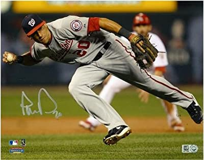 "Ian Desmond Washington Nationals Autographed 8"" x 10"" Fielding Silver Ink Photograph - Fanatics Authentic Certified"