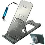 No1accessory adjustable Desktop Desk Stand Cradle Docking station dock for Acer ICONIA TAB W500 Series + Stylus pen