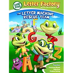 Leapfrog Letter Factory Adventures: The Letter Machine Rescue Team (2014)
