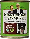 Newmans Own Organics Beef and Liver Grain-Free for Dogs, 12-Ounce Cans (Pack of 12)