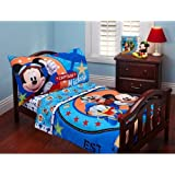 Captain Mickey Two Piece Toddler Sheet Set, Mickey Mouse Clubhouse