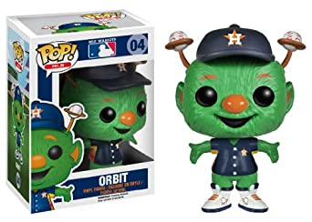 Funko Pop! Major League Baseball: Orbit Houston Astros Vinyl Figure