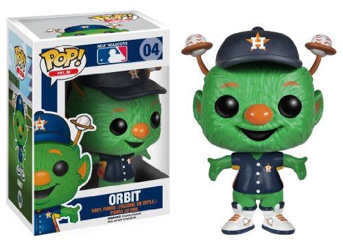 Funko Pop! Major League Baseball: Orbit Houston Astros Vinyl Figure - 1