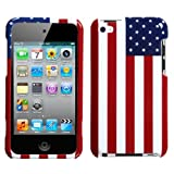 MYBAT United States National Flag Phone Protector Cover for APPLE iPod touch (4th generation)