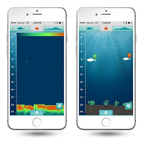 New ibobber castable bluetooth smart fishfinder free shipping for Best castable fish finder