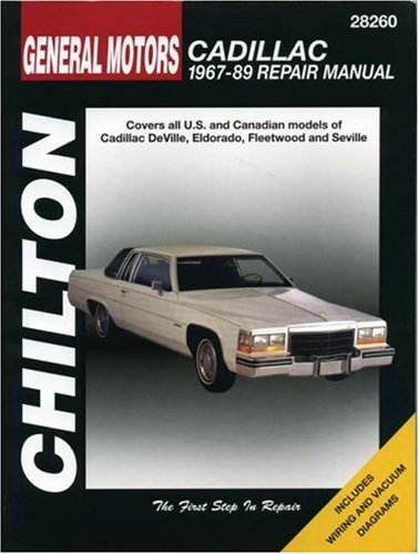 chiltons-general-motors-cadillac-1967-89-repair-manual-covers-all-us-and-canadian-models-of-deville-