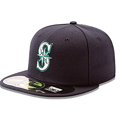 New Era 59Fifty MLB Seattle Mariners Home Game On Field Fitted Hat
