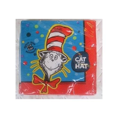 Cat in the Hat Small Napkins (16ct)