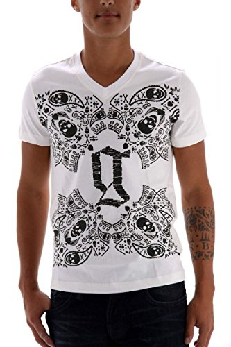 john-galliano-t-shirt-pour-homme-taille-m-blanc