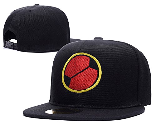 [HAISHEN MegaMan EXE Navi Mark Logo Adjustable Snapback Embroidery Hats Caps] (Megaman Hat)