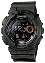 Casio GD100MS-3 G-Shock X-Large Digital Super Luminosity LED Watch (Green)