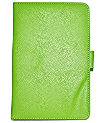 ECellStreet 7 Inch Flip Cover Diary Folio Case With Stand For karbon sma-tab 2 - Green