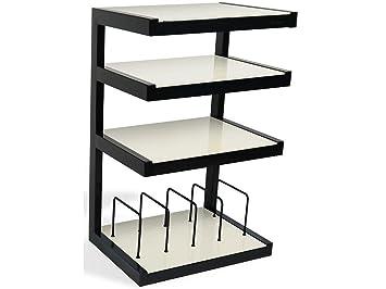 Norstone Esse Hifi Vinyl Black, White - AV equipment stands (Black, White, 22 kg)