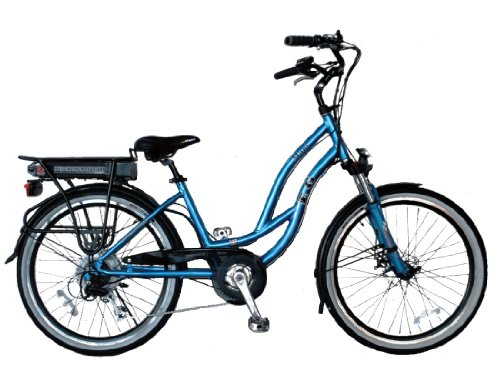 EG Maui EX Beach Cruiser Electric Bike  Glossy Metallic Electric Blue  Type