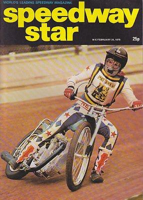 Tom Godal SPEEDWAY STAR MAGAZINE BACK ISSUE 2421979 TOM GODAL PHIL CRUMP