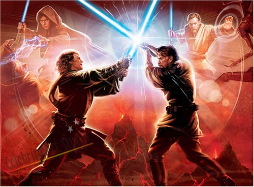 BEAUTIFUL STAR WARS REVENGE OF SITH CANVAS ARTWORK GALLERY WRAP STYLE