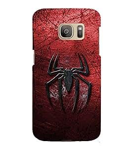 EPICCASE spider web Mobile Back Case Cover For Samsung Galaxy S7 Edge (Designer Case)