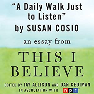 A Daily Walk Just to Listen Audiobook