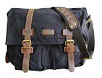 CLELO Military Style Messenger Bag for Laptop 15 Inch Premium Quality