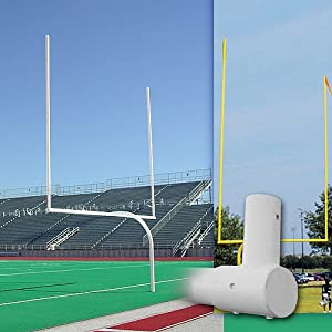 Buy Alumagoal Official High School Gooseneck Goalpost by Alumagoal