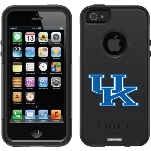 Special Sale University of Kentucky - UK only design on a Black OtterBox® Commuter Series® Case for iPhone 5s / 5